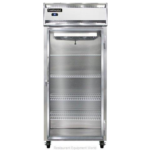 Continental Refrigerator 1RXS-GD Refrigerator, Reach-In