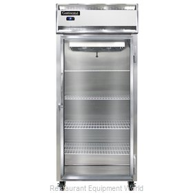 Continental Refrigerator 1RXS-GD Refrigerator, Reach-In