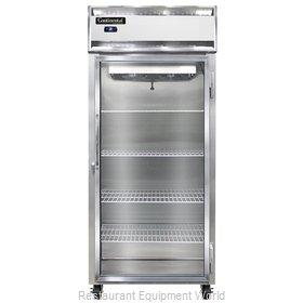Continental Refrigerator 1RXS-SA-GD Refrigerator, Reach-In