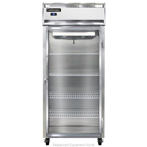 Continental Refrigerator 1RXS-SS-GD Refrigerator, Reach-In