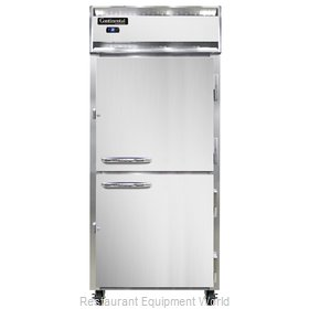 Continental Refrigerator 1RXS-SS-HD Refrigerator, Reach-In