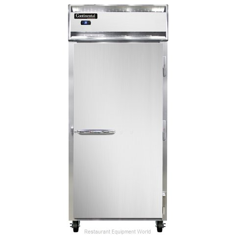 Continental Refrigerator 1RXS-SS Refrigerator, Reach-In