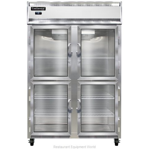 Continental Refrigerator 2F-LT-GD-HD Freezer, Low Temperature, Reach-In