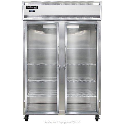 Continental Refrigerator 2F-LT-GD Freezer, Low Temperature, Reach-In