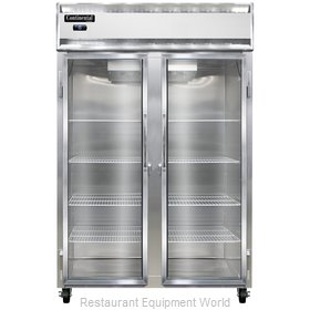 Continental Refrigerator 2F-LT-GD Freezer, Low Temperature, Reach-In