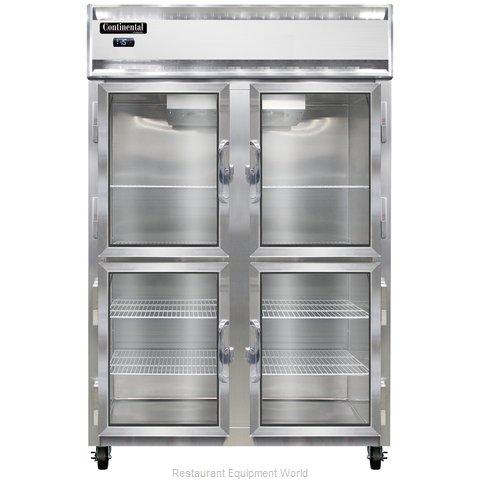 Continental Refrigerator 2F-LT-SS-GD-HD Freezer, Low Temperature, Reach-In