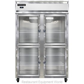 Continental Refrigerator 2F-LT-SS-GD-HD Freezer, Low Temperature, Reach-In