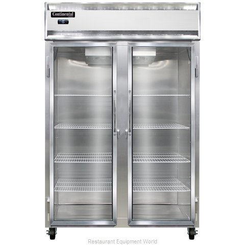 Continental Refrigerator 2F-LT-SS-GD Freezer, Low Temperature, Reach-In