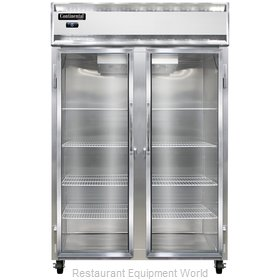Continental Refrigerator 2F-LT-SS-GD Freezer, Low Temperature, Reach-In