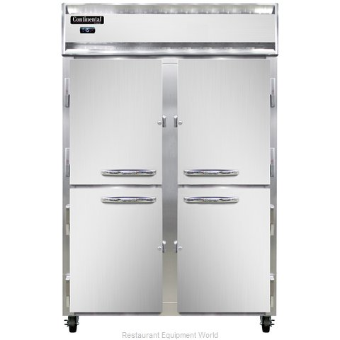 Continental Refrigerator 2F-LT-SS-HD Freezer, Low Temperature, Reach-In