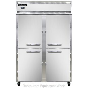 Continental Refrigerator 2F-LT-SS-HD Freezer, Low Temperature, Reach-In