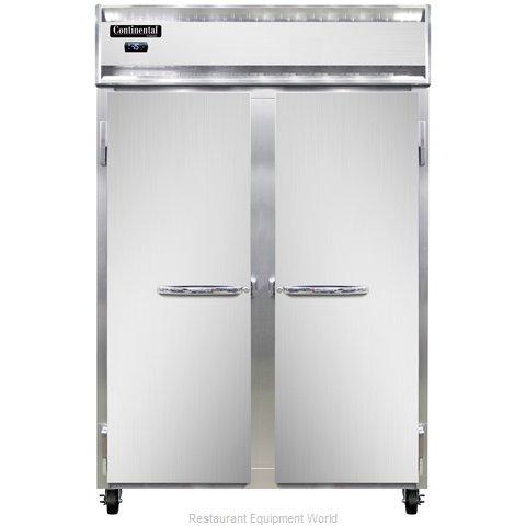 Continental Refrigerator 2F-LT-SS Freezer, Low Temperature, Reach-In