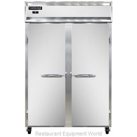 Continental Refrigerator 2F-LT-SS Freezer, Low Temperature, Reach-In