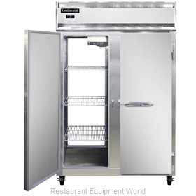 Continental Refrigerator 2F-PT Freezer, Pass-Thru