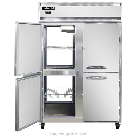 Continental Refrigerator 2F-SA-PT-HD Freezer, Pass-Thru