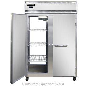 Continental Refrigerator 2F-SA-PT Freezer, Pass-Thru