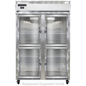 Continental Refrigerator 2F-SS-GD-HD Freezer, Reach-In