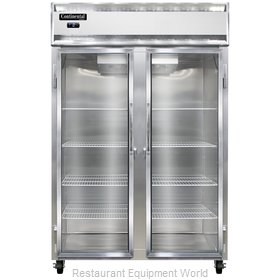 Continental Refrigerator 2F-SS-GD Freezer, Reach-In