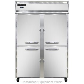Continental Refrigerator 2F-SS-HD Freezer, Reach-In