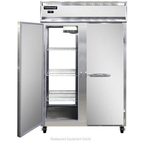 Continental Refrigerator 2F-SS-PT Freezer, Pass-Thru