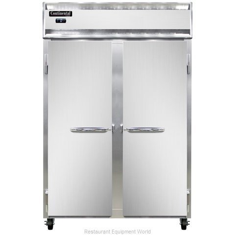 Continental Refrigerator 2F-SS Freezer, Reach-In
