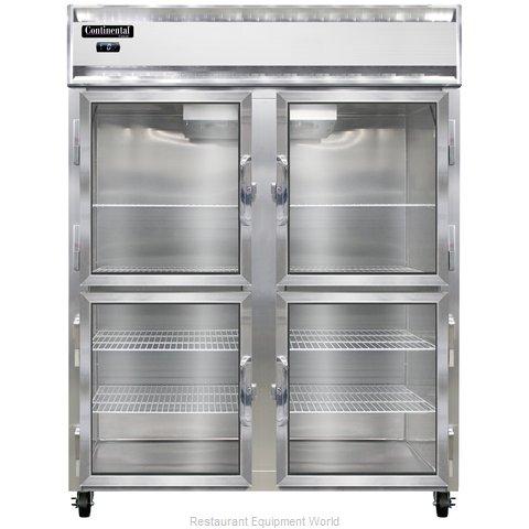 Continental Refrigerator 2FE-GD-HD Freezer, Reach-In