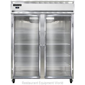 Continental Refrigerator 2FE-GD Freezer, Reach-In