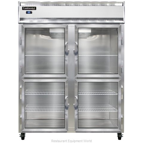 Continental Refrigerator 2FE-LT-GD-HD Freezer, Low Temperature, Reach-In
