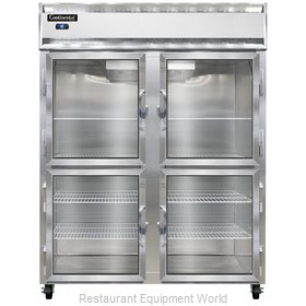 Continental Refrigerator 2FE-LT-GD-HD Freezer, Low Temperature, Reach-In