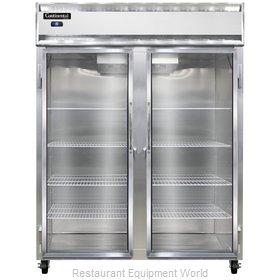 Continental Refrigerator 2FE-LT-GD Freezer, Low Temperature, Reach-In