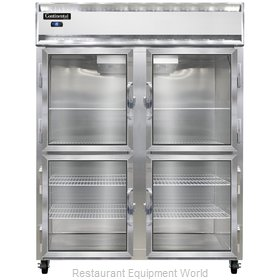 Continental Refrigerator 2FE-LT-SA-GD-HD Freezer, Low Temperature, Reach-In