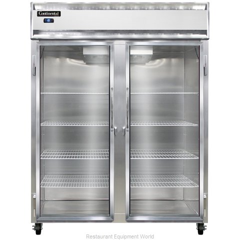 Continental Refrigerator 2FE-LT-SS-GD Freezer, Low Temperature, Reach-In