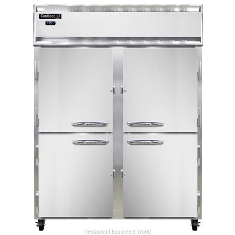 Continental Refrigerator 2FE-LT-SS-HD Freezer, Low Temperature, Reach-In