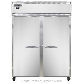 Continental Refrigerator 2FE-LT-SS Freezer, Low Temperature, Reach-In