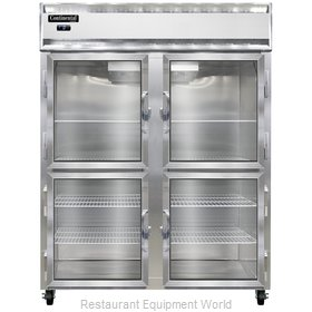 Continental Refrigerator 2FE-SA-GD-HD Freezer, Reach-In