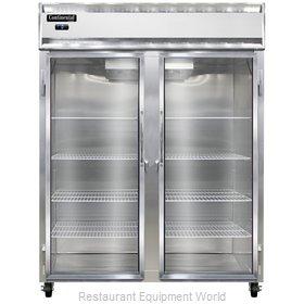 Continental Refrigerator 2FE-SS-GD Freezer, Reach-In