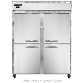 Continental Refrigerator 2FE-SS-HD Freezer, Reach-In