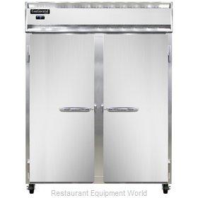 Continental Refrigerator 2FE-SS-PT Freezer, Pass-Thru