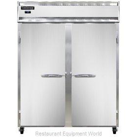 Continental Refrigerator 2FE-SS Freezer, Reach-In