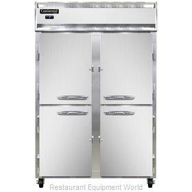Continental Refrigerator 2FNSSHD Freezer, Reach-In