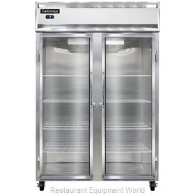 Continental Refrigerator 2FS-GD Freezer, Reach-In