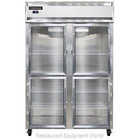 Continental Refrigerator 2FS-SS-GD-HD Freezer, Reach-In