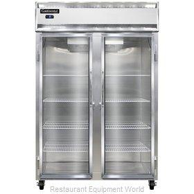 Continental Refrigerator 2FS-SS-GD Freezer, Reach-In