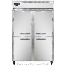 Continental Refrigerator 2FS-SS-HD Freezer, Reach-In