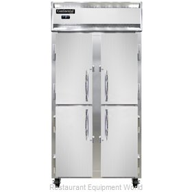 Continental Refrigerator 2FSE-SS-HD Freezer, Reach-In