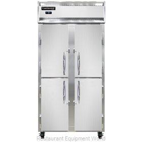 Continental Refrigerator 2FSENHD Freezer, Reach-In