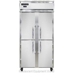 Continental Refrigerator 2FSENSSHD Freezer, Reach-In