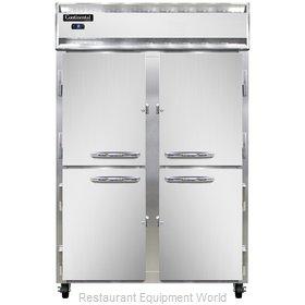 Continental Refrigerator 2FSNSSHD Freezer, Reach-In