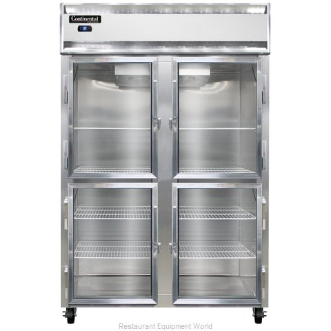 Continental Refrigerator 2R-SS-GD-HD Refrigerator, Reach-In