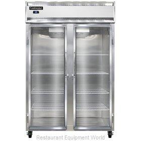 Continental Refrigerator 2R-SS-GD Refrigerator, Reach-In